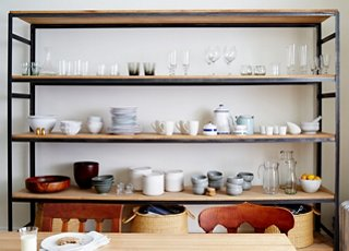 kitchen open shelves ikea lighting 10 gorgeous takes on shelving in kitchens photo by tony vu