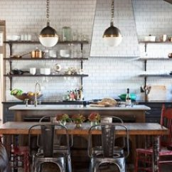 Kitchen Open Shelves Farmhouse Sink 10 Gorgeous Takes On Shelving In Kitchens Design By Rachel Halvorson Designs And Nick Dryden From Daad Architecture Nashville Tn
