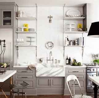 open shelving kitchen 10 Gorgeous Takes on Open Shelving in Kitchens