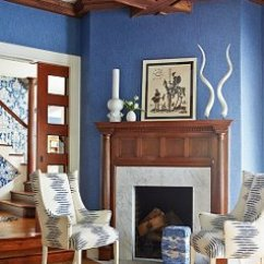 Navy Blue And Chocolate Brown Living Room Mirror Wall Decoration Ideas 14 Beautiful Decorating For White
