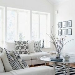 All White Living Room Ideas Yellow And Black Whiteout Almost Rooms One Kings Lane Photo By Living4media Magdalena Bjornsdotter