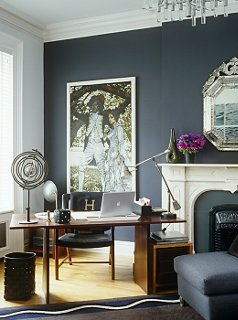 home office in living room ideas modern rugs for south africa discover 6 creating a petite one kings lane centerpiece