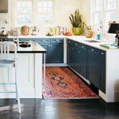 Kitchen Runner Facelift For Cabinets See Why Every Home Could Use Rugs Photo By Patrick Cline Lonny Magazine