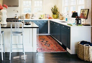 kitchen floor runner legacy cabinets see why every home could use rugs photo by patrick cline lonny magazine