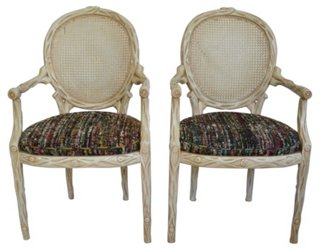 chair design brands ergonomic head support erin giglia one kings lane faux bois style armchairs pair