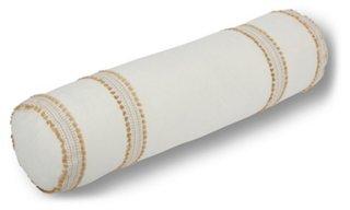 odell 7x28 bolster pillow gold