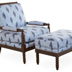 Living Room Chair With Ottoman Rattan Patio Chairs Uk Bankwood Spindle Blue Lbl Alttext Altthumbnailimage