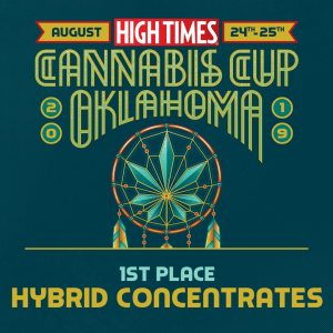 Oklahoma Dab Lab cannabis cup winner
