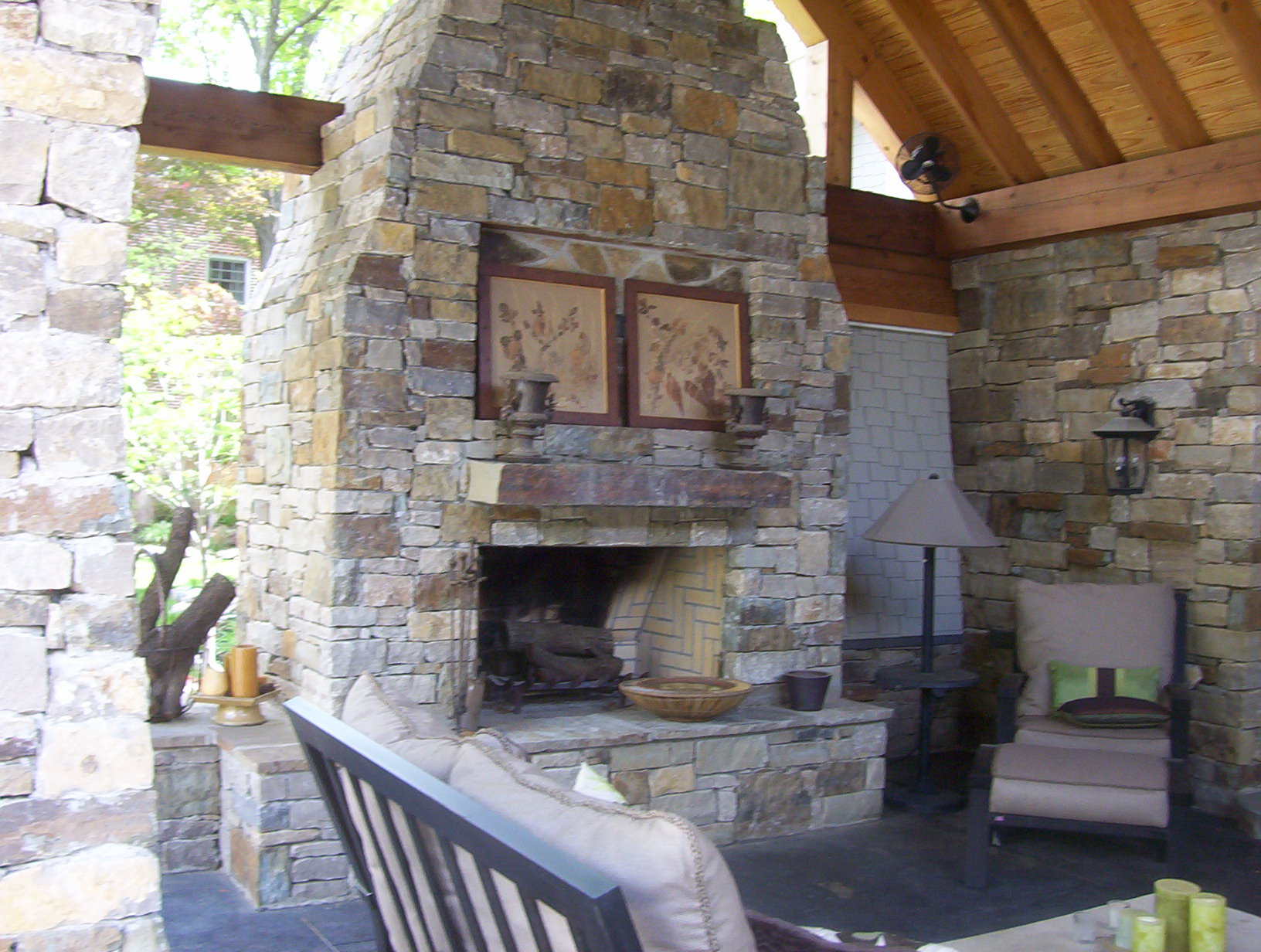 Outdoor Fireplace and Fire Pits in Tulsa  The Design Differences  The Best of Tulsa Lawn Care