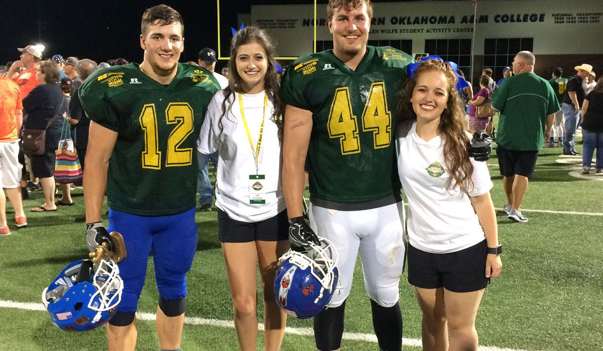 Corn Bible athletes excel at all-star game