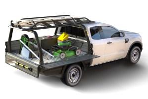 Tri gate pickup beds at Oklahoma Upfitters