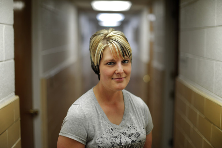 Lea Gray of Hollis was addicted to hydrocodone for 11 years before a felony charge put her on the road to recovery.