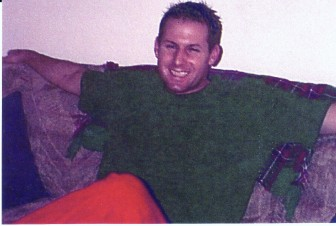 Brian Bolding in 2003, two years before he died of a methadone overdose.