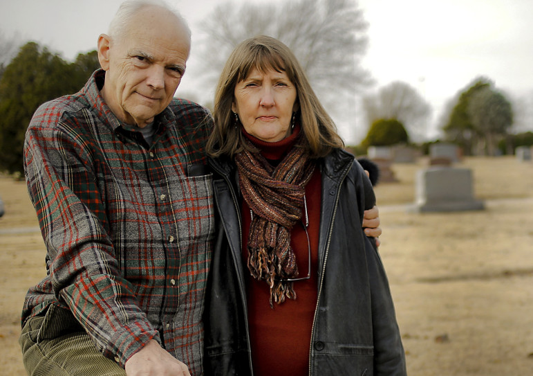 Dwight and Jill Smoot, who lost their son Aaron Smooth to a drug overdose.