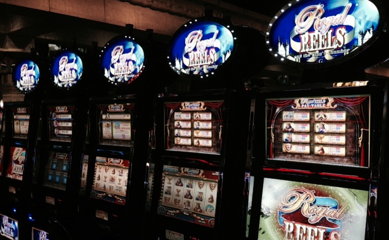 Calls to a national gambling helpline from Oklahoma show that most people struggling with gambling addiction cite slot machines as the main problem.