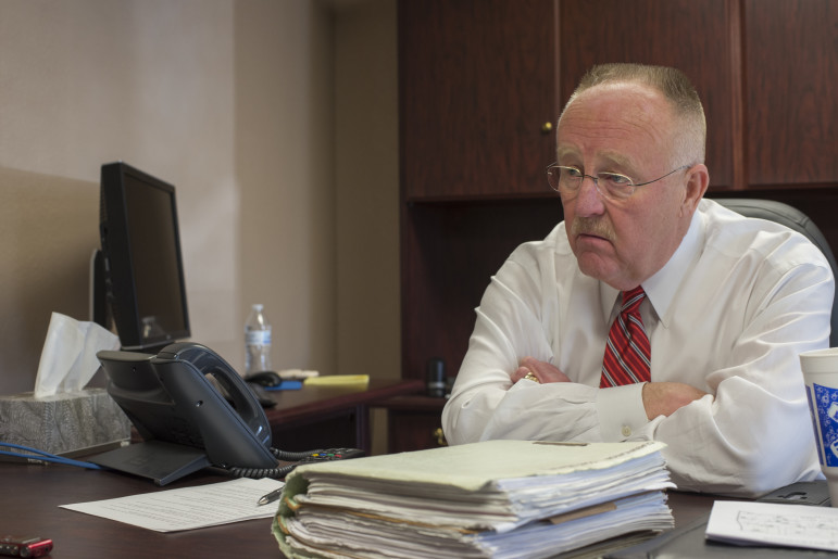 Interim Correction Director Joe Allbaugh faces numerous challenges in the prison system. width=