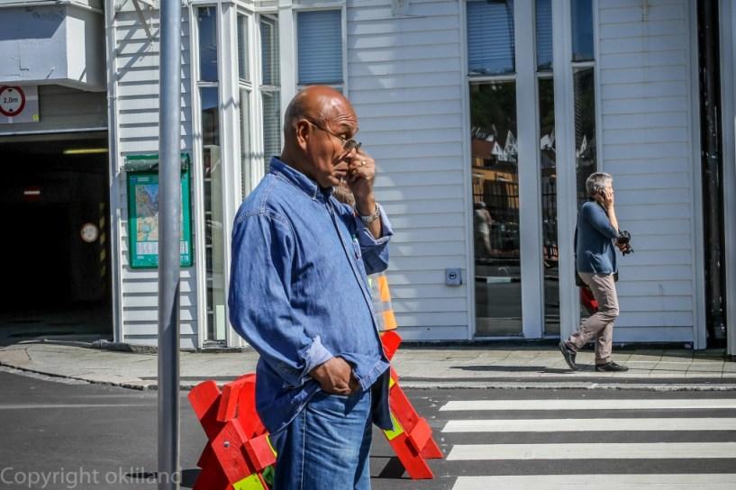 Mann på Gladamat 2012