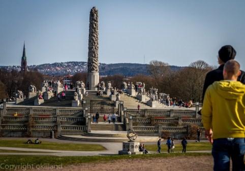 Frognerparken og monolitten