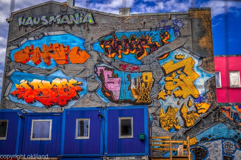Bilde av grafitti og Hausmania av Ørjan Liland