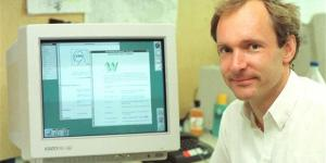 Tim Berners-Lee and first web server