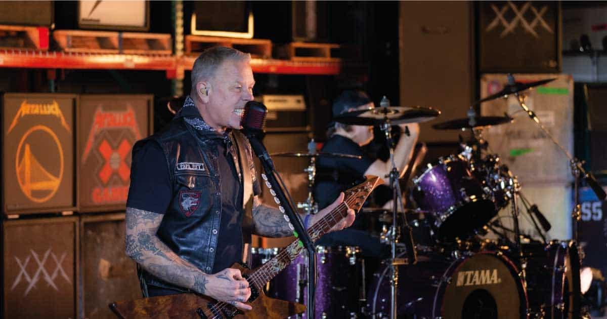 Metallica toca em programa especial após a final do Super Bowl