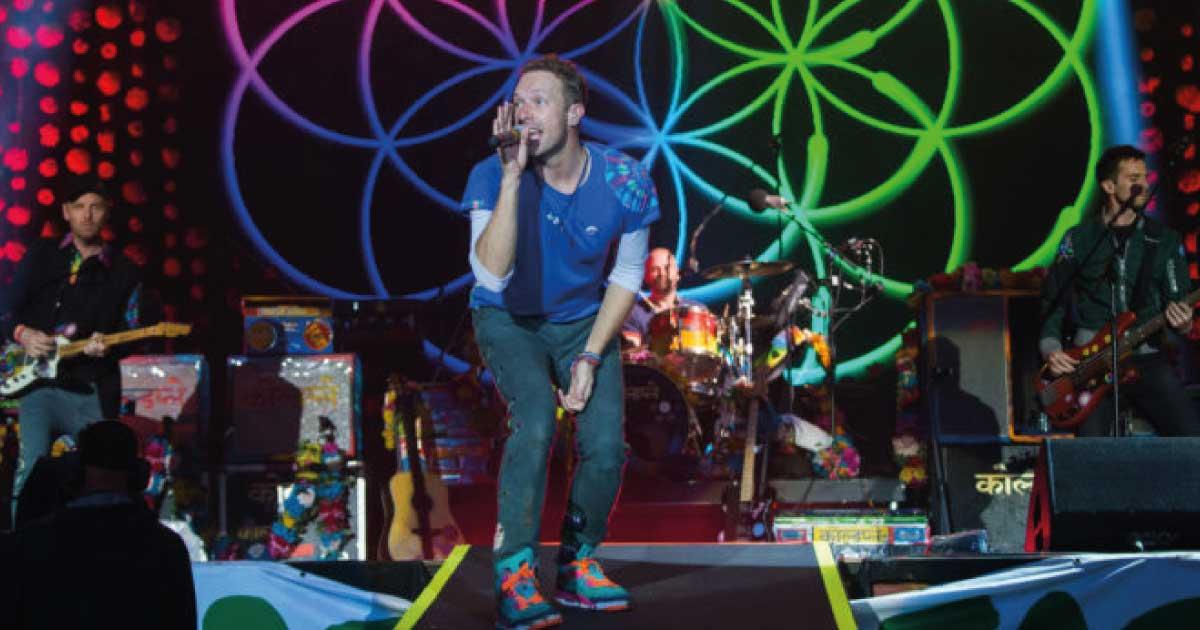 Coldplay deve lançar novo single no dia 7 de maio