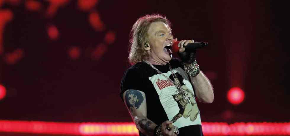 Guns N ' Roses adia shows europeus para 2022