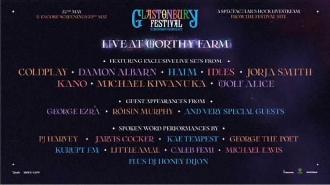 Glastonbury anuncia horários e divulga novos nomes