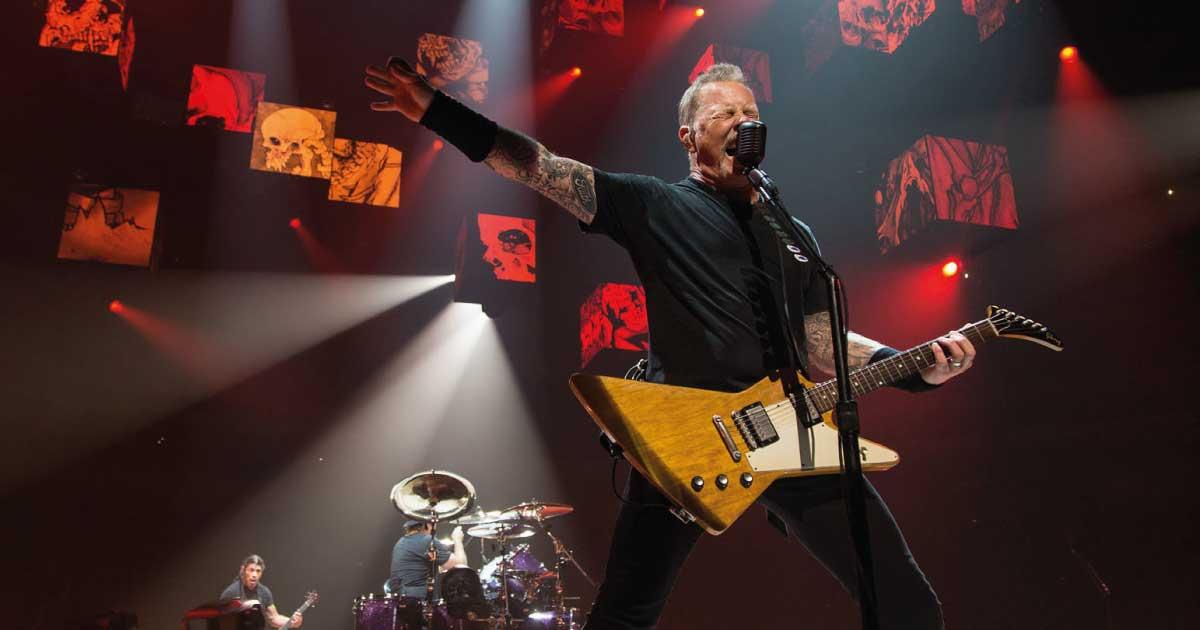 Metallica faz transmissão especial nesta segunda-feira (24)