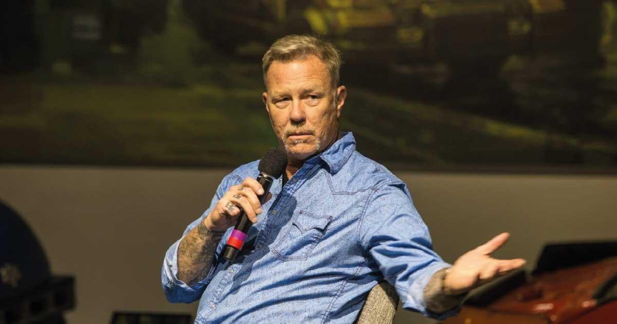 Metallica já tem mais de 10 músicas para o novo disco, afirma James Hetfield