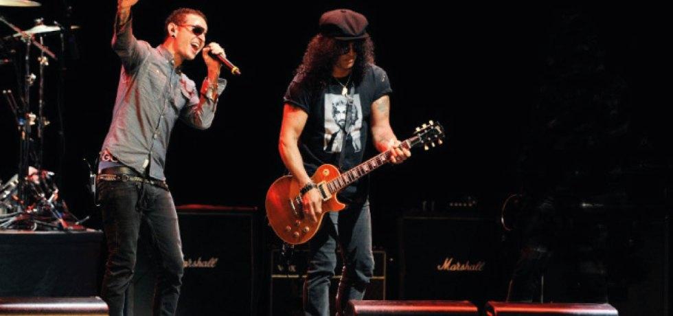 Música de Chester Bennington com Slash deve ser lançada em breve