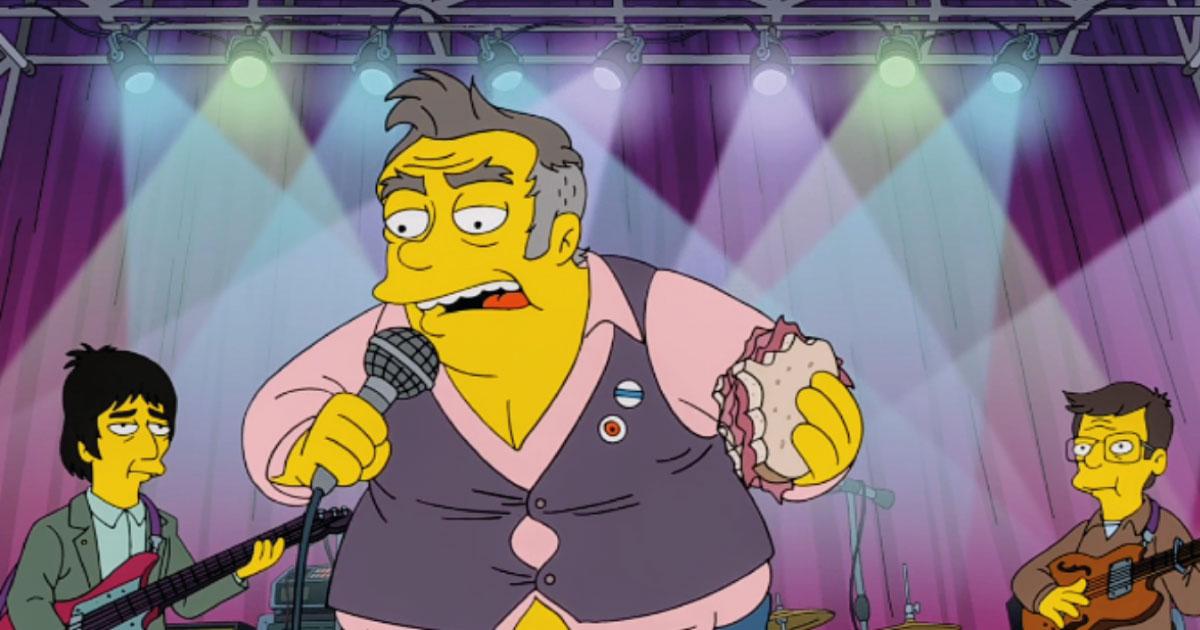 Música do episódio de Simpsons com Morrissey está disponível na internet; ouça
