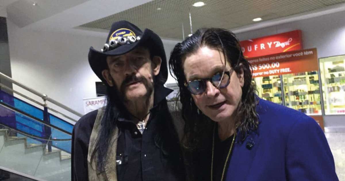 Ozzy ficou impressionado com a capacidade de Lemmy escrever letras