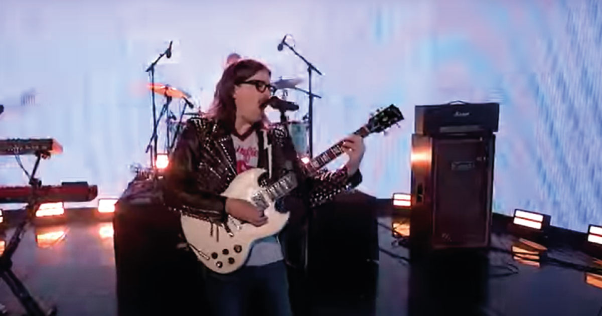 Weezer leva seu hard rock ao programa Jimmy Fallon