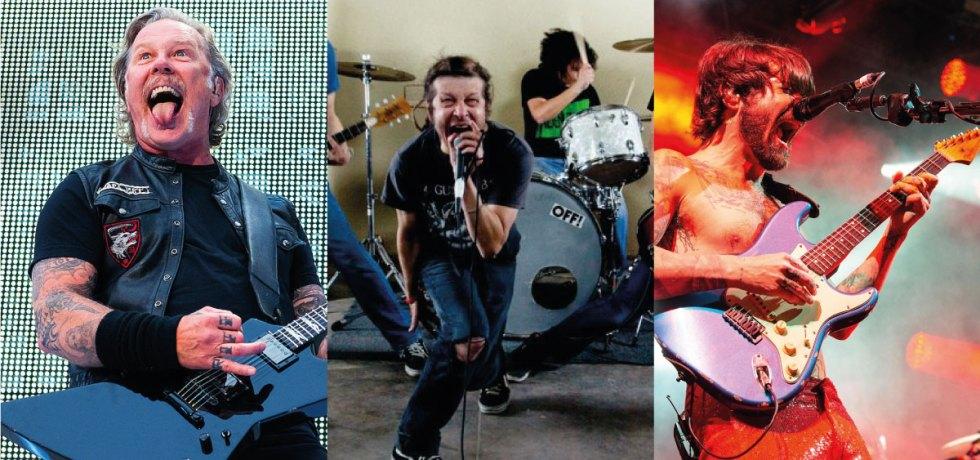 """""""Holier Than Thou"""", do Metallica, ganha covers de OFF! e Biffy Clyro; ouça"""