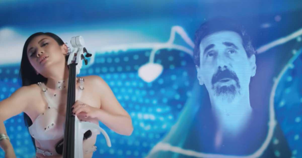 Serj Tankian colabora com a violoncelista Tina Guo