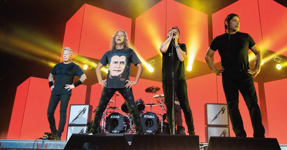 """Metallica toca """"Black Album"""" na íntegra em festival nos Estados Unidos"""