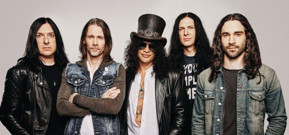 "Slash anuncia novo álbum e lança o single ""The River is Rising"""