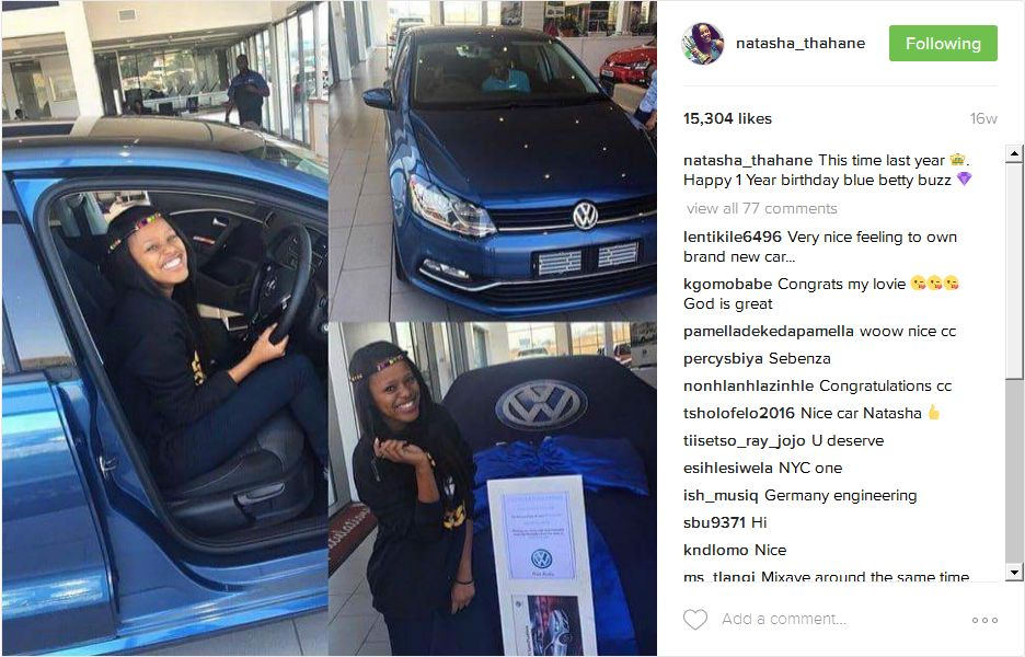 5 Young SA Female Celebs Who Are Their Own Blessers  OkMzansi