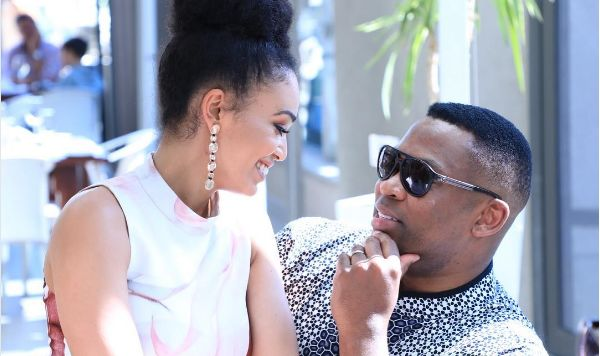 Pearl Thusi Sets The Record Straight On Robert Marawa Reunion Speculations