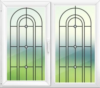 Окна с фацетами