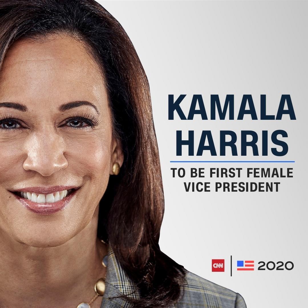 Kamala Harris នឹងក្លាយជាអនុប្រធានាធិបតីស្រ្តីដំបូងគេ បន្ទាប់ពី Joe Biden ទទួលបានជោគជ័យលើការបោះឆ្នោត