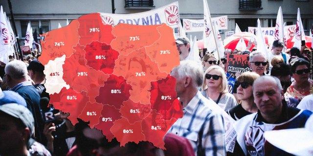 Znalezione obrazy dla zapytania strajk nauczycieli zdjecia
