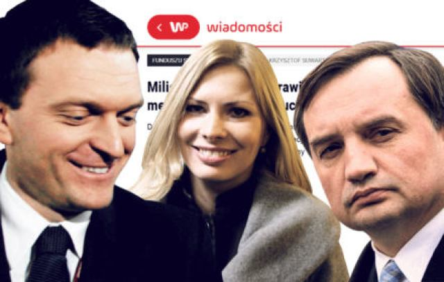 """Jak Wirtualna Polska promuje Ziobrę. """"Łączy nas z Ministerstwem Sprawiedliwości wiele interesów"""""""