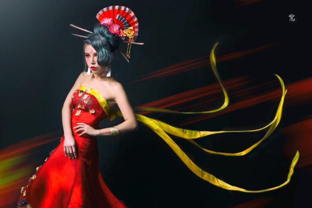 中國風娉婷婚紗攝影-中式婚紗攝影