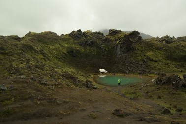 Jedno od rijetkih neključajućih jezera po putu