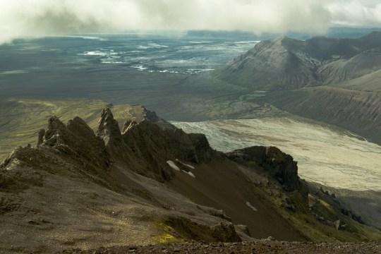 Pogled s vrha planine