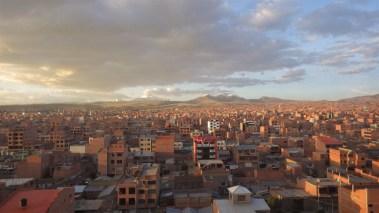 Zalazak sunca, El Alto