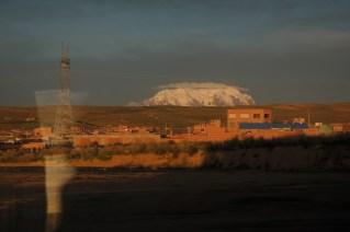 Veličanstveni Illimani prilikom dolaska u La Paz