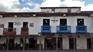 Balkoni na kolonijalnim kućama u Cuscu